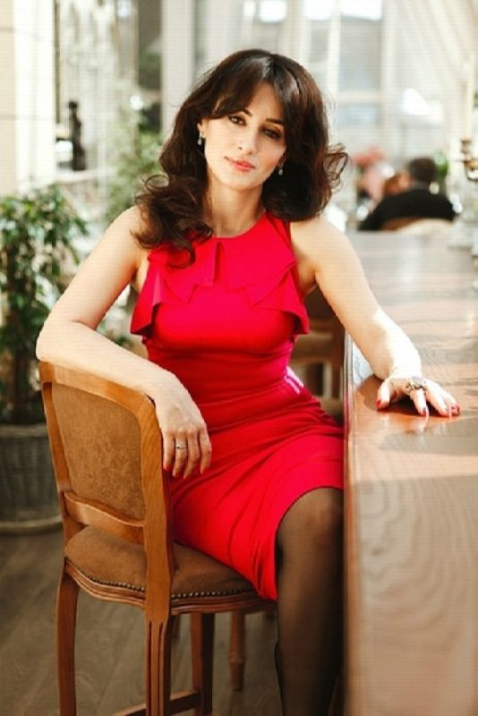 Tina Kandelaki, Russian TV presenter from Georgia