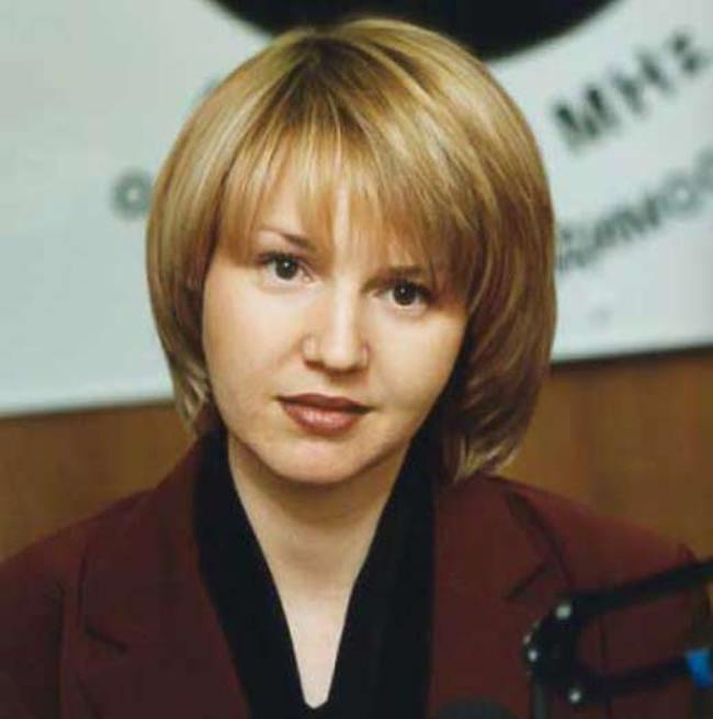 Yulia Bordovskih, TV presenter and writer