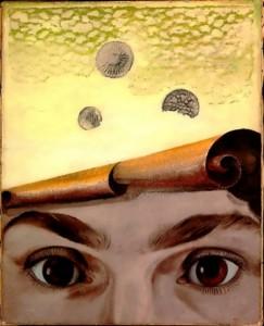 Gala portrait by Max Ernst