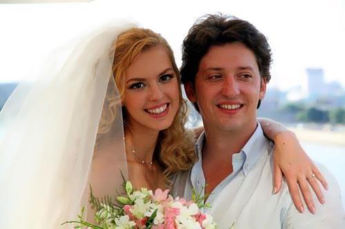 Lyanka and her husband Mikhail Weinberg