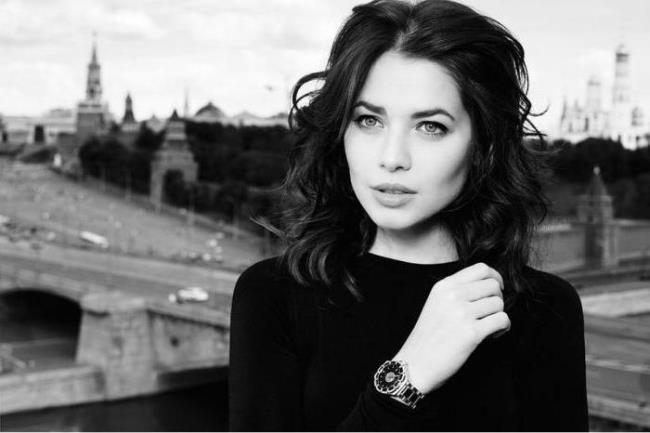 Yulia Snigir, Russian actress and model
