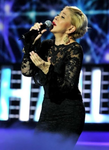 Queen of Russian chanson Lubov Uspenskaya
