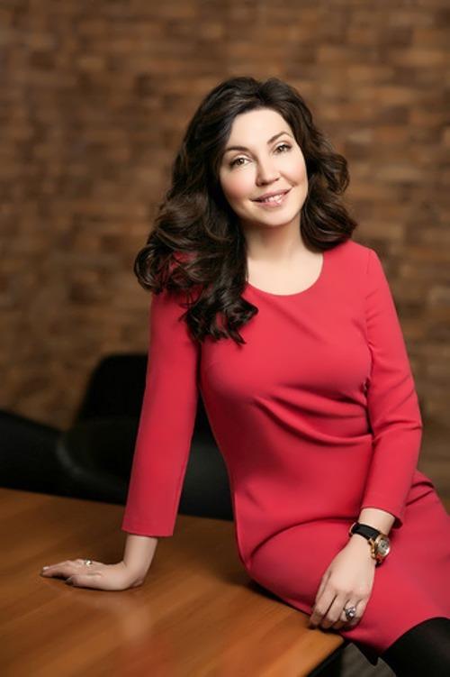 Maria Lemesheva Russian TV presenter