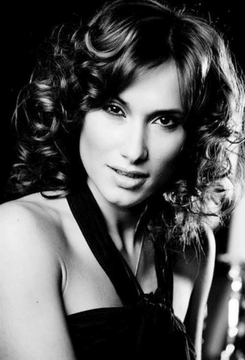 Marika Russian fashion designer and TV presenter