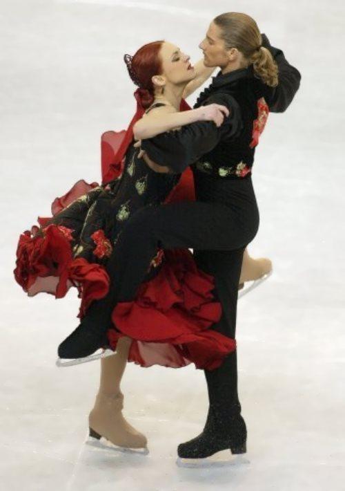 Marina Anisina Russian figure skater