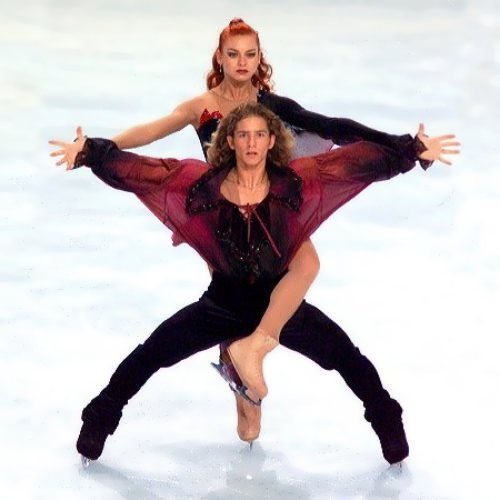 Marina Anisina ice dancer