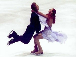 Marina Anissina Russian figure skater