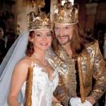 Anisina and Nikita Dzhigurda. Wedding