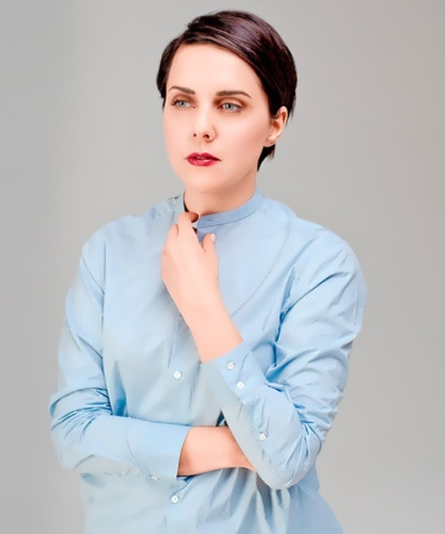 Shelest Olga presenter