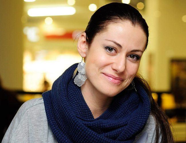 Anna Kovalchuk, Russian actress, born in Germany