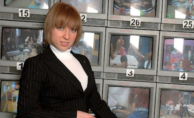 Yana Churikova, journalist and TV host