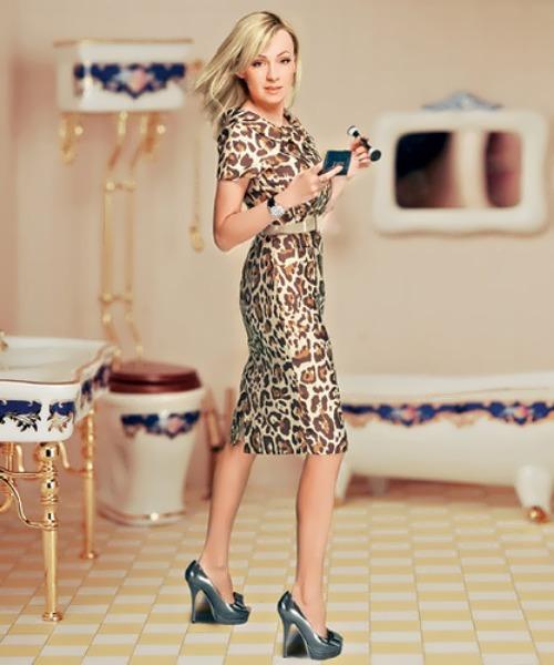Yana Rudkovskaya fashionable girl