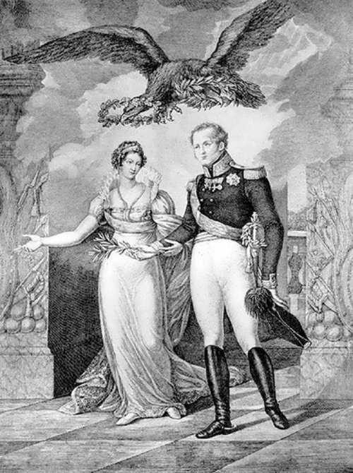 Alexander I and Elisabeth Alexeevna
