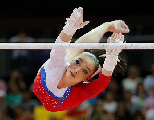 Aliya Mustafina Olympic Gold Medalist