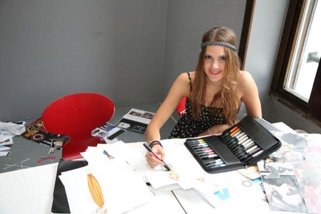 Kira Plastinina, young fashion designer