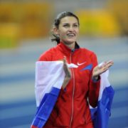 Anna Chicherova, high jumper