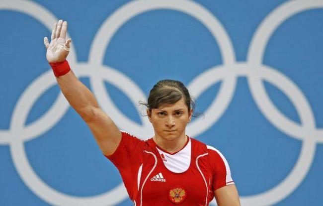 Svetlana Tsarukayeva, Russian weightlifter