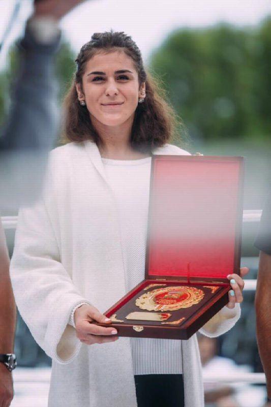 Natalia Vorobyeva, Wrestling Champion