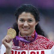 Tatyana Lysenko, hammer thrower