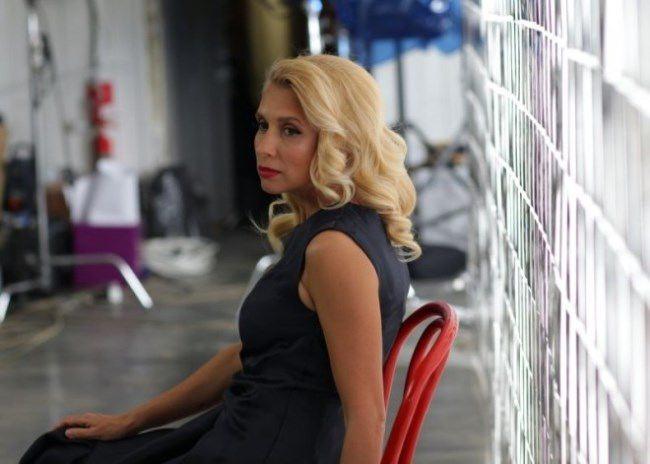 Alena Sviridova, singer, actress, TV host
