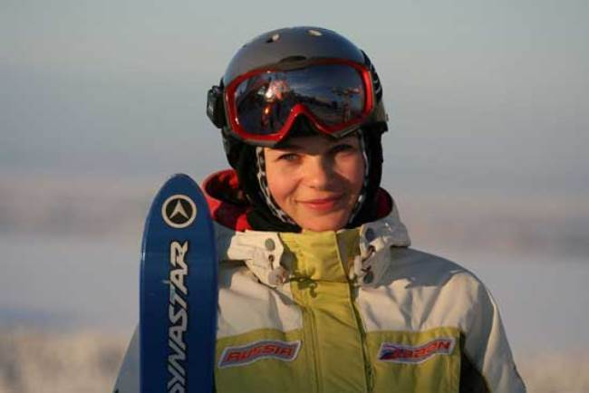 Ekaterina Stolyarova, athlete from Russia