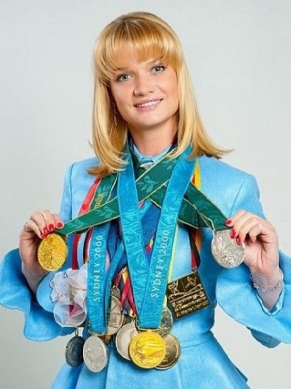 Svetlana Khorkina, Russian gymnast