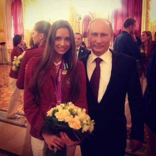 Sevastianova and Vladimir Putin