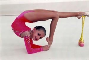 Sevastyanova beautiful athlete