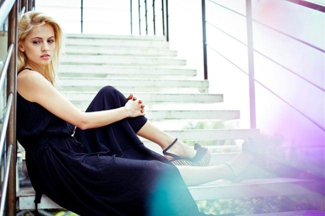 Yanina Studilina, actress, model, presenter