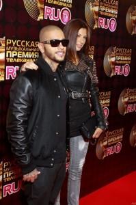Fashionable Mila Volchek, Timati's wife