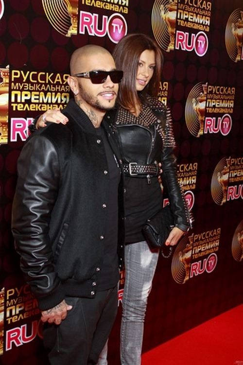 Fashionable Mila Volchek, Timati's wife