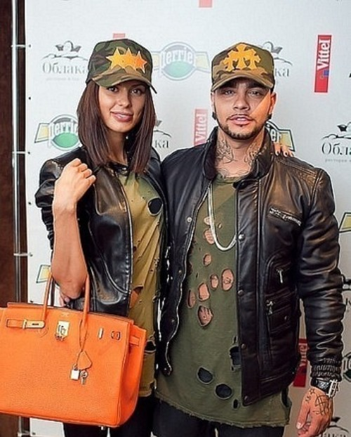 Beautiful Mila Volchek and Timati