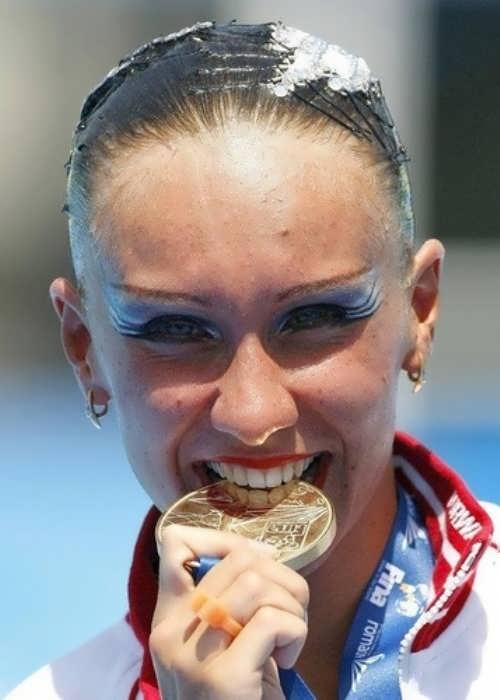 Ishchenko Natalia swimmer