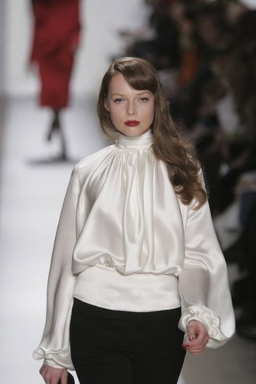 Astonishing Russian fashion model Polina Kouklina