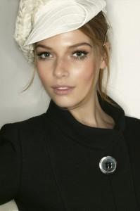 Lovely model Polina Kouklina