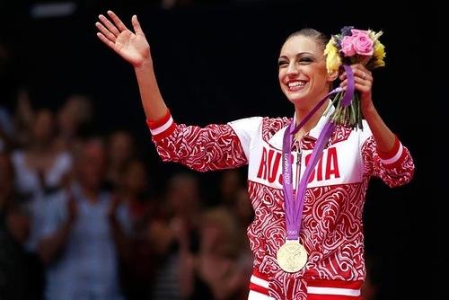 Kanayeva Yevgeniya gymnast