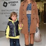 Masha Tsigal and her son