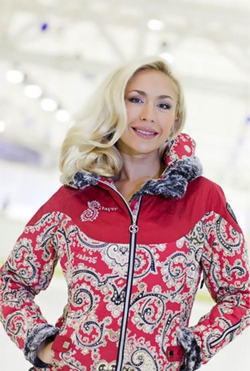 Anastasia Grebenkina, Russian ice dancer