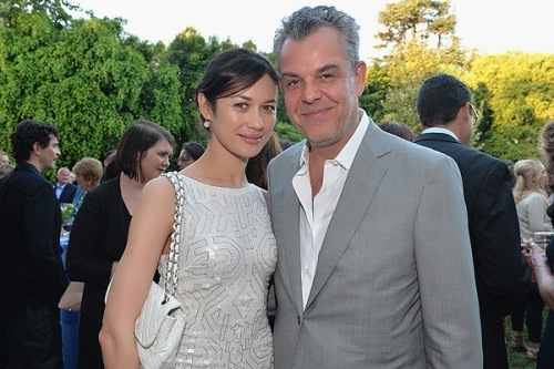 Kurylenko and Danny Huston