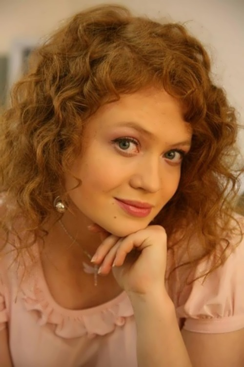Beautiful Russian actress E. Dubakina