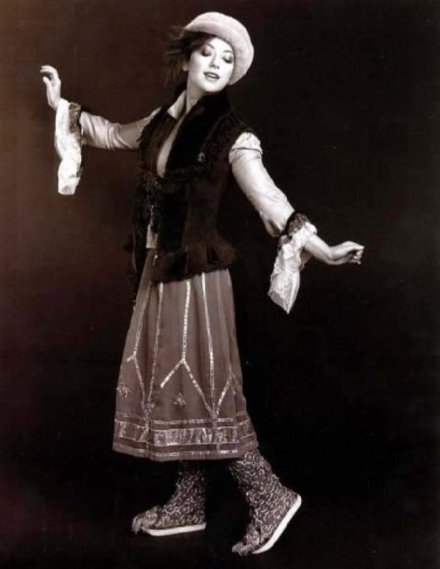 Olga Budina, theater and film actress