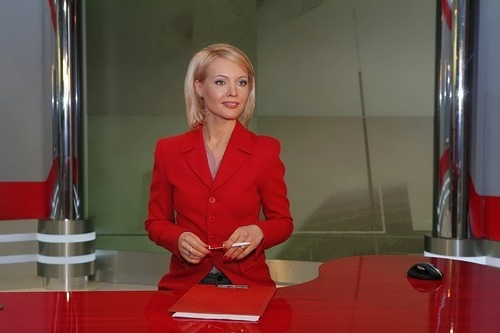 Sashina Irina presenter