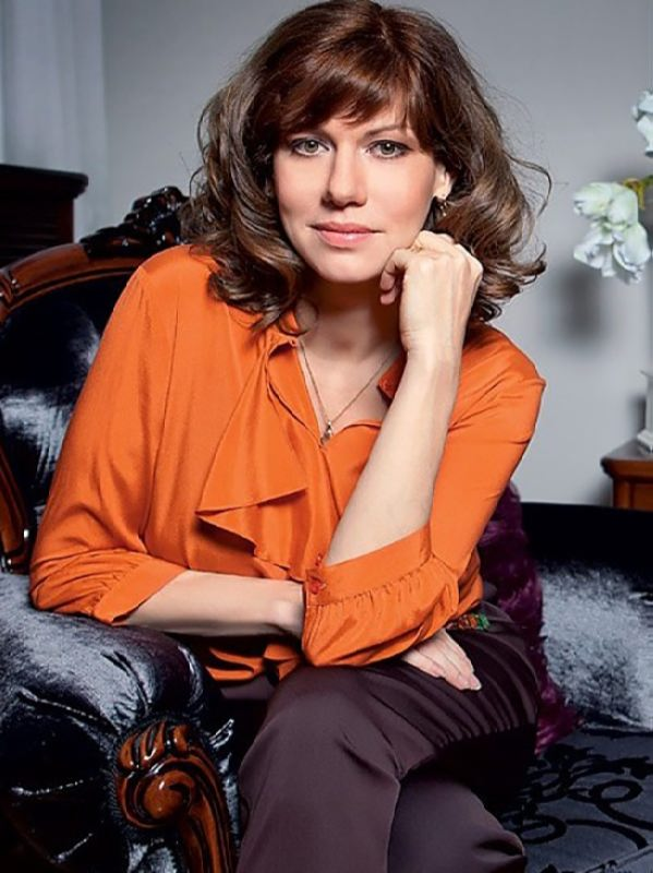 Elena Biryukova, theater and film actress