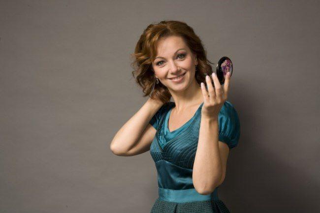 Olga Budina, theater and film actress