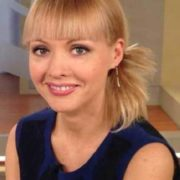 Irina Sashina, news presenter