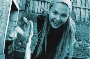 Folk-rock singer Pelageya Khanova