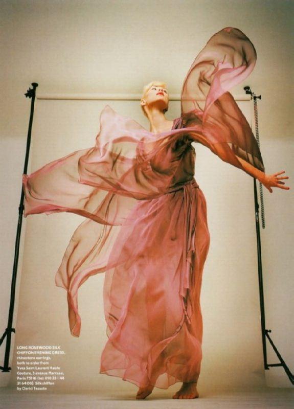 Olga Pantyushenkova, Russian top model