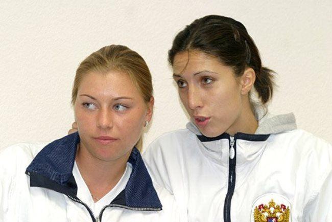 Vera Zvonareva and Anastasia Myskina