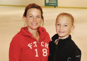 Gordeeva and her daughter