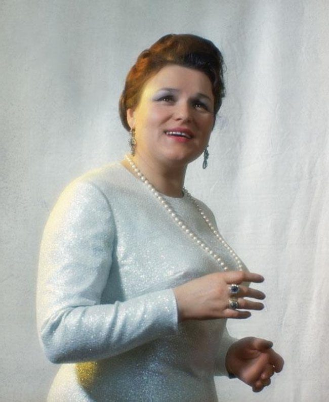 Lyudmila Zykina, National voice of Russia